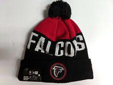 Atlanta Falcons Knit Hat New Era Cuff Pom Patch Beanie Stocking Cap NFL