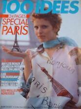 100 IDEES - SPECIAL PARIS