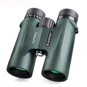 Celestron Outland X 8x42 10x42 Telescope Waterproof portable  Binoculars BaK-4
