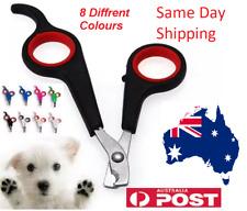 8 COLOUR Nail Pet Grooming Clipper Scissors Dog Trimmer Cat Bird Toe Cutter Care