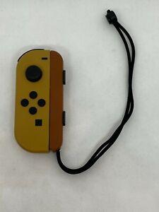 Nintendo Switch Pokemon Let's Go Eevee Brown Joy Con + Cream Wrist Strap