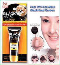 Mistine Blackhead Black Head Carbon Peel Off Face Mask Acne Remove Pimple Spots