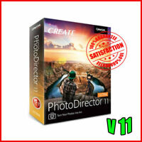 ⭐Offer⭐Cyberlink PhotoDirector ultra 11-LifeTime-Windows✔️Fast Delivery✔️