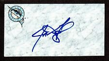Jeff Gogal ( LHP MINORS 2004-2010 ) MARLINS  SIGNED AUTOGRAPH AUTO 3x5 INDEX COA