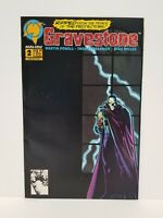Gravestone #2 (July 1993) - Malibu Comics - actual pictures - NM/MN