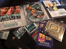 Lost - The Complete First Season (DVD, 2005, 7-Disc Box Set) Tons Bonus Features