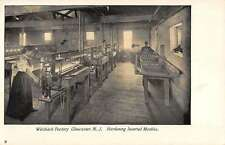 Gloucester New Jersey Welsbach Factory Seamstresses Antique Postcard K32925