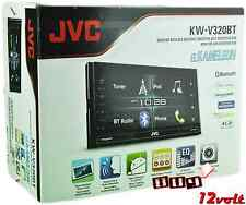"JVC KW-V320BT 6.8""  BT CD SiriusXM Ready + FREE HD BACKUP CAMERA + Parking Line"