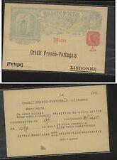 Macau   preprinted  postal  card  not used      KL0722