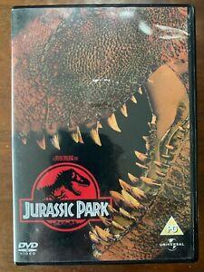 Jurassic Park DVD 1993 Spielberg Michael Crichton Dinosaur Movie Classic
