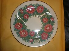 Lenox Sentiments Of Roses Love Plate 1997 In Original Box