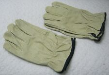 Lot of 2 New Leather Work Gloves for General Use Gardening Automotive Woodwork