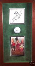 Tiger Woods Signed Autograph 2001 UD Practice Used Golf Ball AUTO PSA/DNA