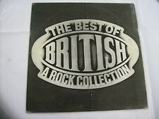 THE BEST OF BRITISH - LP VINYL ZEBRA 1985 - PAUL DI ANNO - MARSEILLE - SAVAGE