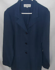 LIZ JORDAN Womens Blue Jacket size 12