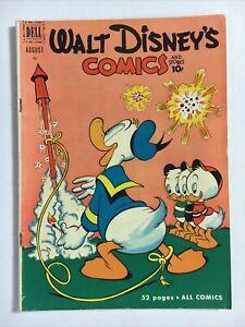 What Disney's comics 131 F 1951 Dell Donald rocket