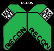Rock Shox Recon Replacement Custom Color Bike Decal Kit You Choose Colors