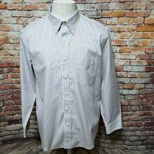 L.L. BEAN SLIM FIT WRINKLE FREE NON IRON DRESS SHIRT SIZE 16 1/2-32 B05-18