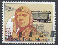 USA Briefmarke gestempelt 29c National Postal Museum / 1014