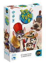 Tem-purr-a Card Game Mini Games Iello Games IEL 51283 Tempura Cat Sushi Tempurra