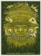 Dave Matthews Band Poster 2017 Riviera Maya Mexico N1 Signed & Numbered #/800