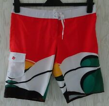 "BILLABONG ~ BOARDSHORTS ~ SURF SWIM SHORTS ~  W34"" ~PIMENTO ~£65~ SLIM FIT"