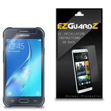 2X EZguardz Clear Screen Protector Shield HD 2X For Samsung Galaxy J1 Ace Neo