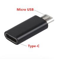 ✅Micro USB Stecker auf Typ C Type-C USB Buchse Converter USB-C Adapter Konverter