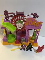 Imaginext Joker Funhouse With Joker And Batman Figures