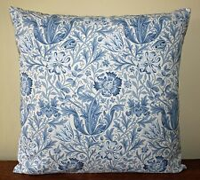 "William Morris Gallery Compton Blue Cushion Cover 17"" - Archive Print"