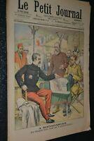 Le petit journal Supplément illustré N°625 / 9-11-1902 / Gallieni à Madagascar