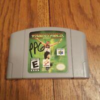 International Track & Field 2000 N64 Nintendo 64 Cart Only