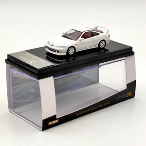 1:64 HOBBY HONDA Integra Type-R DC2 Diecast Models Car Toys White Collection
