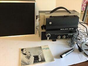 Bolex SP 8, super 8 Sound projector, Instruction manual
