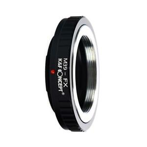 K&F Concept M39 lens to Fuji X FX mount Adapter
