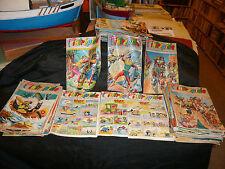lot de 61 numéro l'intrépide BD magazine jeunesse enfantina 1957 1958