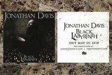 JONATHAN DAVIS Black Labyrinth 2018 Ltd Ed RARE Sticker +FREE Rock Stickers KORN