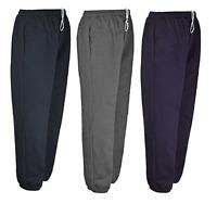 Men's Casual Fleece Tracksuit Elasticated Jogging Gym Bottom Trouser Size S-10XL