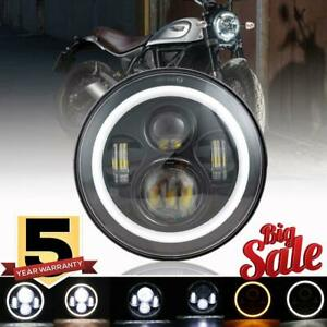 "7"" in LED Headlight  for Yamaha V-Star XVS 650 950 1100 1300 Classic Stryker"