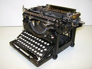 Antique 1921 Underwood Model 5 Vintage Typewriter #1457170