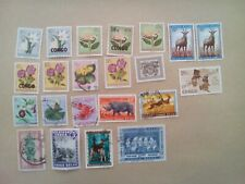 lot N°26 - 13 timbres CONGO BELGE