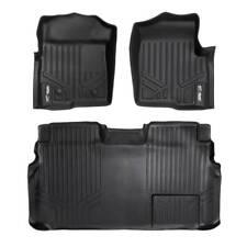 Maxliner 2011-2014 Ford F-150 Super Crew Cab Floor Mats 2 Row Set Black
