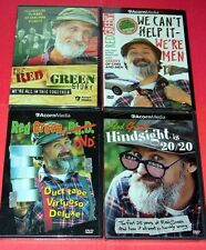 ACORN MEDIA ~ LOT of 4 ~ RED GREEN STORY DVDS HINDSIGHT 20/20 We Can't Help It