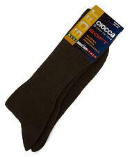 Calza calzino corto basso uomo sock CIOCCA art. 501/1 taglia 40-45 col. FANGO