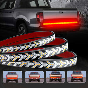 "60"" 528-LED For Car Strip Tailgate Turn Signal Brake Tail Reverse Light Bar SUV"
