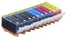 10 NEW Pack Ink Set for Canon PGI-220 CLI-221 MP540 iP3600 MP630 MX860
