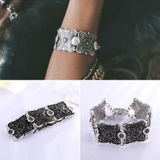Boho Gypsy Ethnic Tribal Festival Antalya Coin Anklet Bracelet Cuff Bangle 1pc