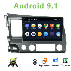 """10.1"""" Android 9.1 Car Radio Stereo MP5 Player Wifi GPS For Honda Civic 2006~2011"""