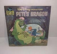 Walt Disney Productions Pete's Dragon No 369 Book & Record