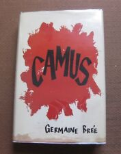 ALBERT CAMUS biography by Germaine Bree - 1st HCDJ 1961 Rutgers  - VG+